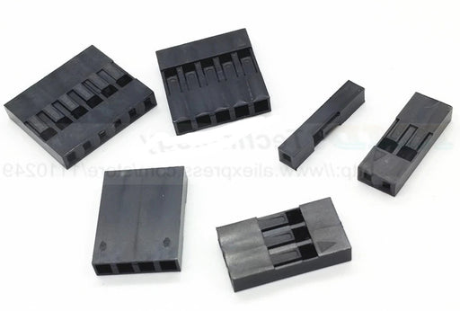 Single Row Inline Dupont Header Housings - 100 Pack from PMD Way with free delivery worldwide