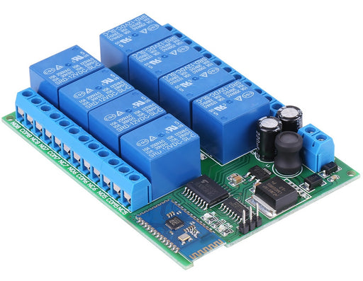 Eight Channel Bluetooth Relay Module from PMD Way with free delivery worldwide