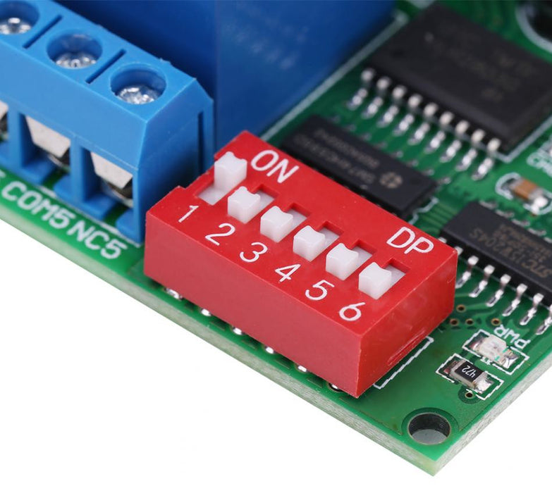 Eight Channel RS485 Relay Module - 12V DC from PMD Way with free delivery worldwide