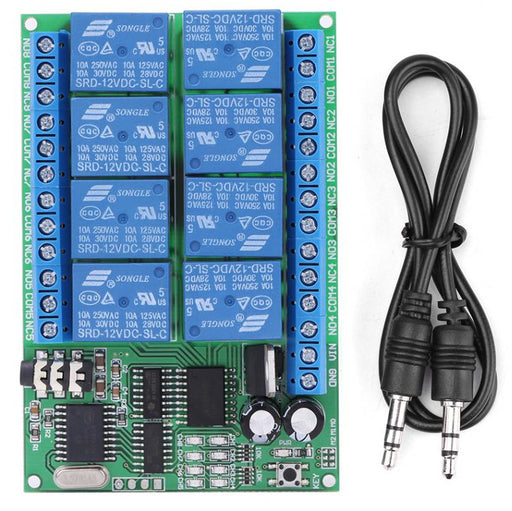 DTMF Control Eight Channel Relay Board from PMD Way with free delivery worldwide