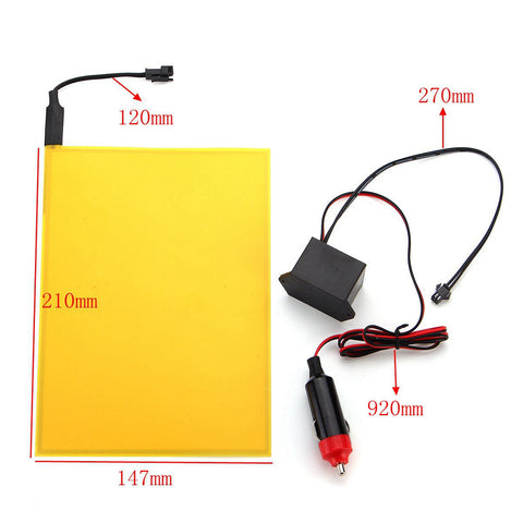 A5 EL Panels with 12V Inverter - Choice of Six Colors from PMD Way with free delivery worldwide