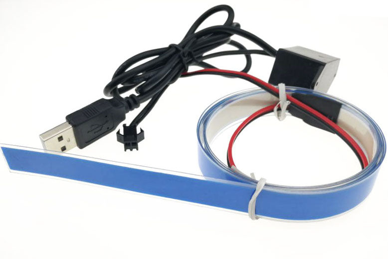 Flexible 1m EL Tape with Inverter from PMD Way with free delivery worldwide