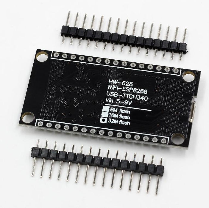 NodeMCU - Lua based ESP8266 Development Boards with 32MB Flash in packs of ten from PMD Way with free delivery worldwide. Great for Arduino, micropython and more