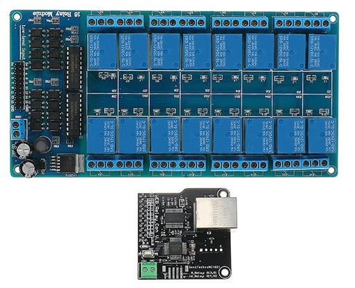 Ethernet Sixteen Relay Control Board from PMD Way with free delivery worldwide