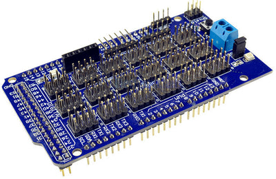 Rapid I/O connections with the Expansion Shield for Arduino Mega from PMD Way - with free delivery, worldwide