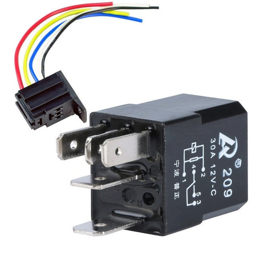Car Fuel Pump Relay 12V 30A 5 Pin SPDT from PMD Way with free delivery worldwide