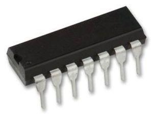 74HC00 Quad 2 Input NAND Gate ICs in packs of five from PMD Way with free delivery worldwide