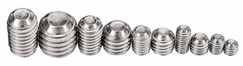 M3 M4 M5 M6 M8 Hexagonal Stainless Steel Grub Screw Kit - 200 Pieces from PMD Way with free delivery worldwide