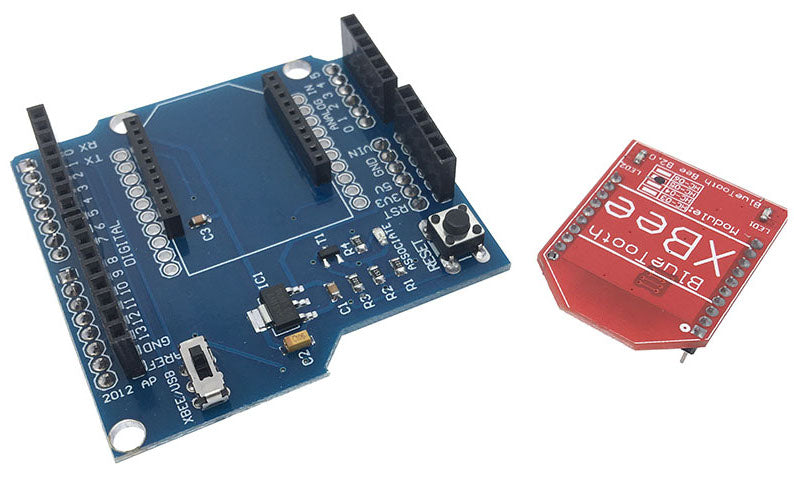 Enable Bluetooth communication with your Arduino using the HC05 Bluetooth Shield for Arduino from PMD Way with free delivery, worldwide