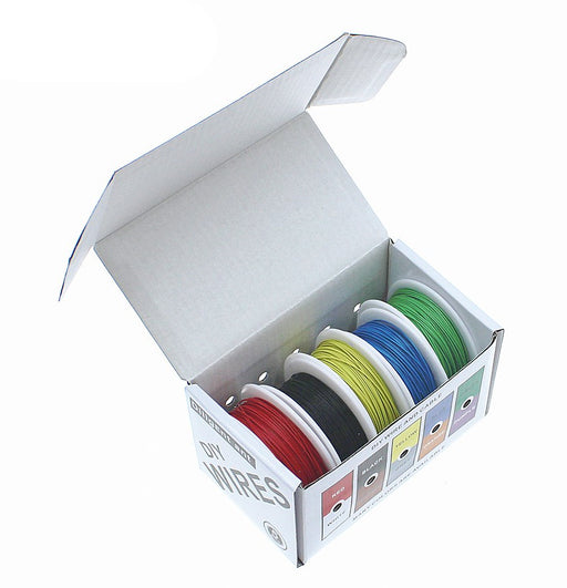 Assorted Fluorine Plastic High Temperature Wire Packs from PMD Way with free delivery worldwide
