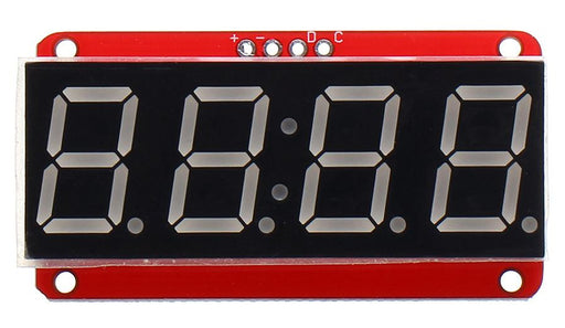 "HT16K33 0.56"" Four Digit Red LED Clock Display Module from PMD Way with free delivery worldwide"