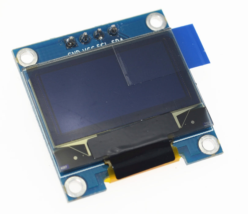 "0.96"" 128 x 64 Graphic OLED Displays - I2C or SPI - Various Colors"