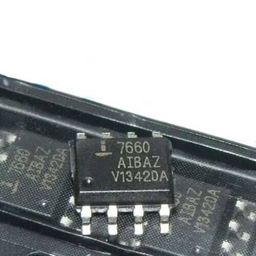 ICL7660 CMOS Voltage Converter SMD SOP8 IC in packs of ten from PMD Way with free delivery worldwide