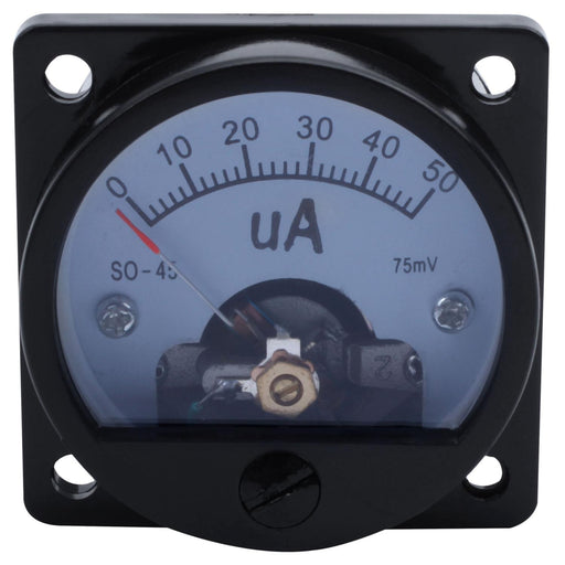 SO-45 Analog DC Ammeter Current Meter - 50uA Range from PMD Way with free delivery worldwide