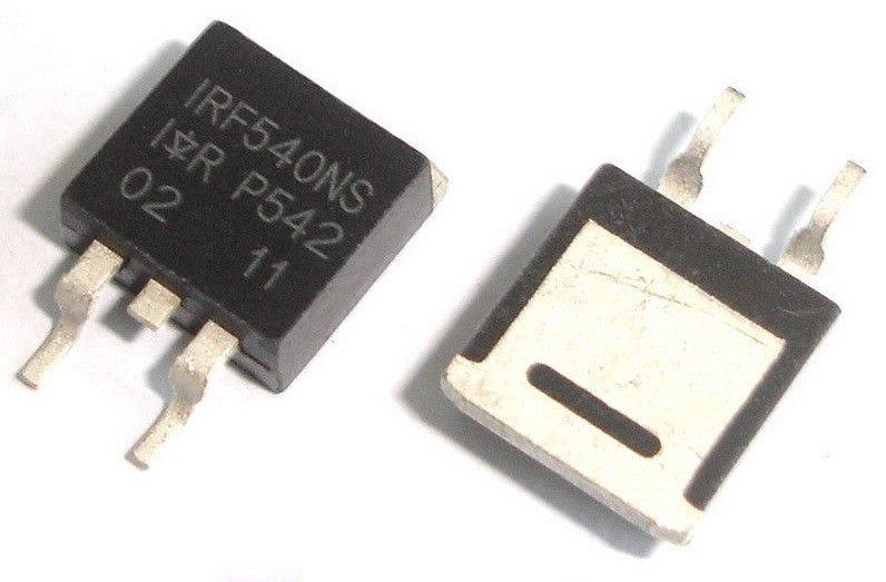 IRF540NS TO-263 SMD N-Channel Power MOSFETs in packs of ten from PMD Way with free delivery worldwide