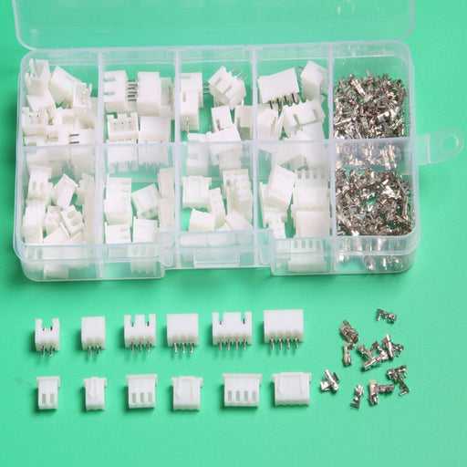 Assorted JST XH Connector Set - 60 Pairs from PMD Way with free delivery worldwide