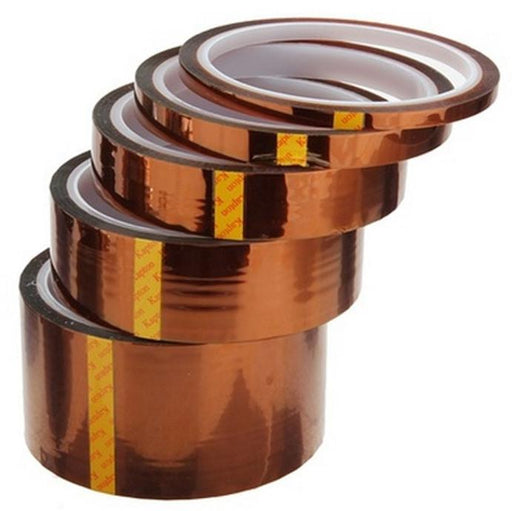 Kapton Thermal Insulation Tape in various widths from PMD Way with free delivery worldwide
