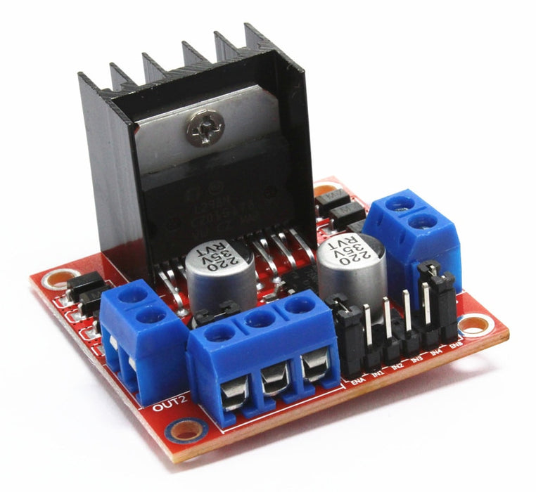 L298N Dual Motor Controller Module - 2A - Twin Pack on