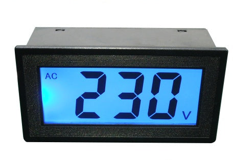 LCD Digital AC Voltage Panel Meter 80~500V AC from PMD Way with free delivery worldwide