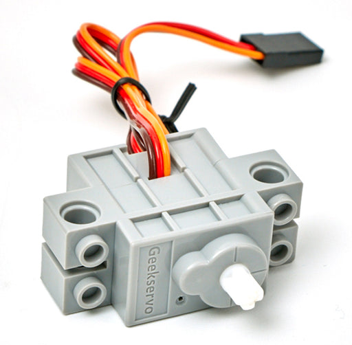 LEGO®-compatible Servos in packs of four from PMD Way with free delivery worldwide