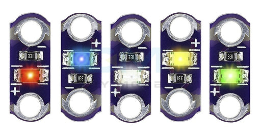 LilyPad Style Wearable LEDs - 20 Pack