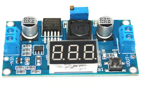 LM2596-compatible DC DC Buck Converter with Display - 40 to 1.25V - 10 Pack from PMD Way with free delivery worldwide
