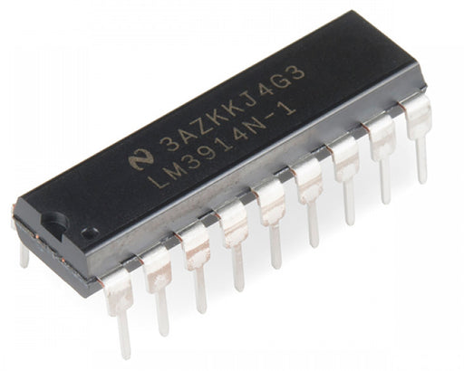 LM3914 Dot/Bar Display Driver ICs in packs of ten from PMD Way with free delivery worldwide