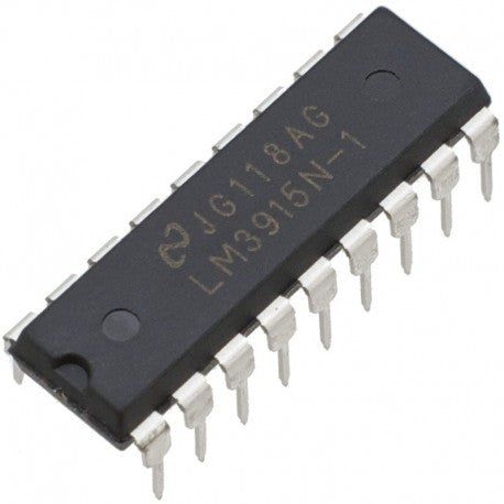 LM3915 Dot/Bar Display Driver ICs in packs of five from PMD Way with free delivery worldwide