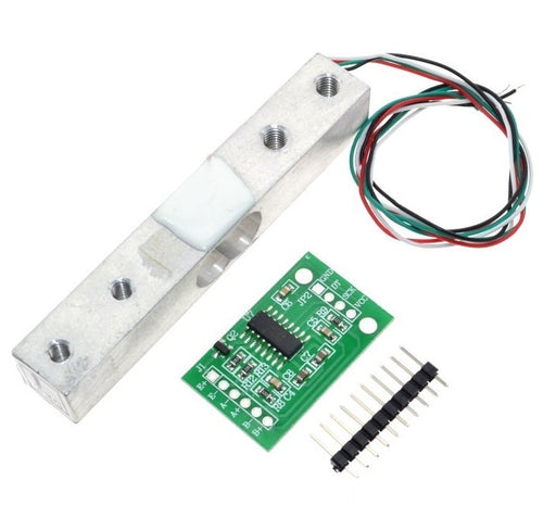 1kg Load Cell and HX711 Load Cell Amplifier from PMD Way with free delivery worldwide