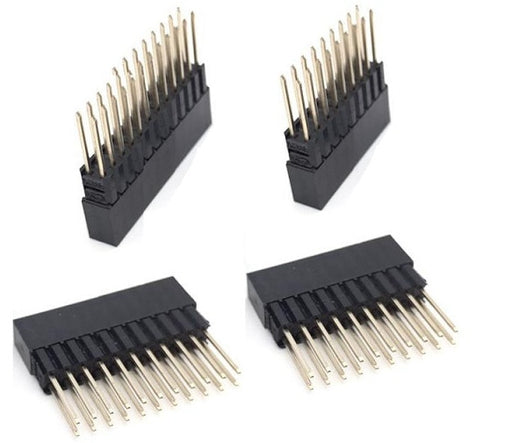 Dual Row Female Stacking Long Headers for Raspberry Pi and more from PMD Way with free delivery worldwide