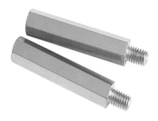Nickel Plated M2.5 Standoffs - Male to Female - 20 Pack from PMD Way with free delivery worldwide