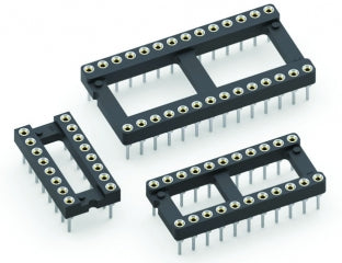 Machined Pin DIP IC Sockets - 10 Pack - Various Sizes from PMD Way with free delivery worldwide