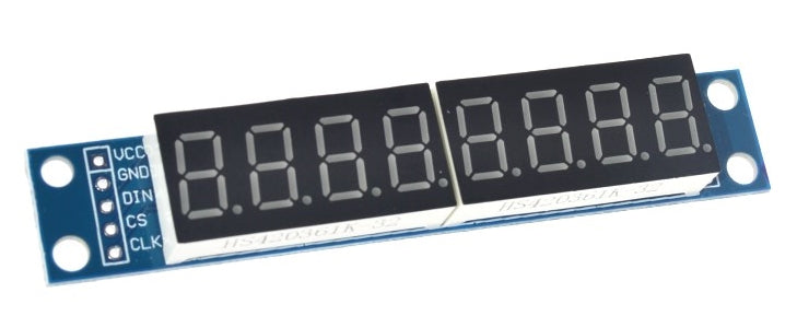 8 Digit 7 Segment Numerical Display with MAX7219 from PMD Way with free delivery worldwide
