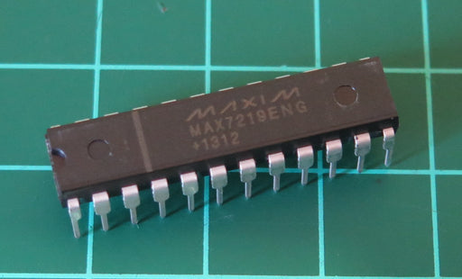 MAX7219 LED Driver ICs in packs of 50 from PMD Way with free delivery worldwide