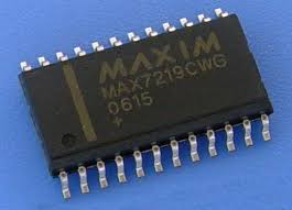 MAX7219 SOP24 SMD LED Driver ICs in packs of ten from PMD Way with free delivery worldwide