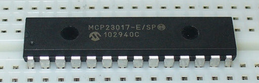 Microchip MCP23017 16-bit I2C Port Expander ICs in packs of ten from PMD Way with free delivery worldwide