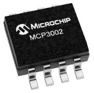 Microchip MCP3002 10-bit ADC SMD ICs in packs of five from PMD Way with free delivery worldwide