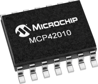 MCP42010-I/SL SMD SOP14 10K0 Single/Dual Digital Potentiometer ICs from PMD Way with free delivery worldwide