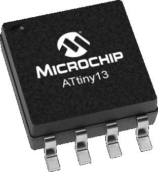 Microchip ATTINY13A-SSU AVR SOIC Microcontroller - Ten Pack from PMD Way with free delivery, worldwide