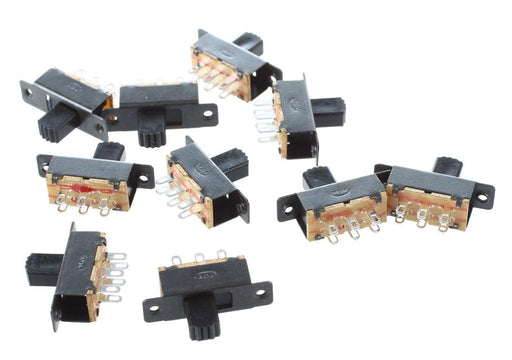 Micro DPDT Slide Switches - 10 Pack from PMD Way with free delivery worldwide