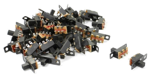 Micro SPDT Slide Switch - 50 Pack from PMD Way with free delivery worldwide