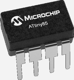 Microchip ATTINY85-20PU DIP8 AVR Microcontroller - Ten Pack from PMD Way with free delivery, worldwide