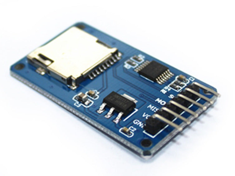 Easily add rewritable storage to your Arduino or other development board with microSD card Breakout Boards in packs of ten from PMD Way with free delivery worldwide