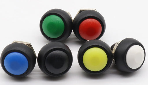 12mm Momentary Dome Pushbuttons in packs of six from PMD Way with free delivery worldwide