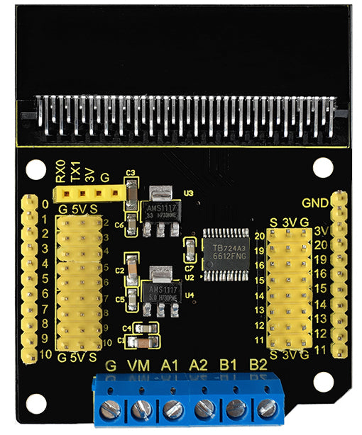 Easy motor control with the Motor Driver Board for BBC micro:bit from PMD Way with free delivery, worldwide