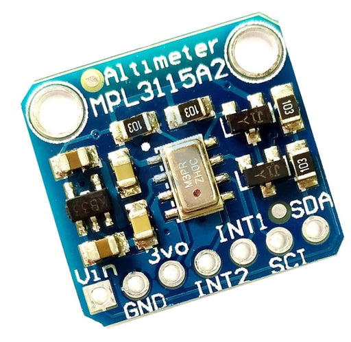 MPL3115A2 - I2C Barometric Pressure/Altitude/Temperature Sensor from PMD Way with free delivery worldwide