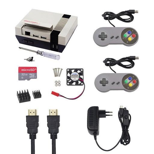NES Pi Gaming Kit for Raspberry Pi 3B+ from PMD Way with free delivery worldwide