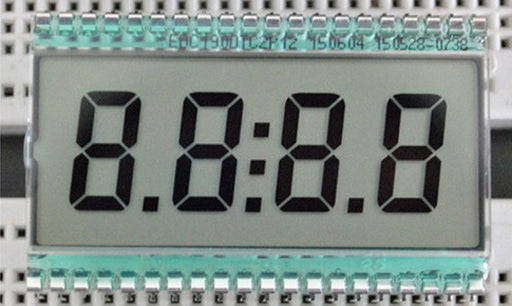 4 Digit 7 Segment Clock LCD Display from PMD Way with free delivery worldwide
