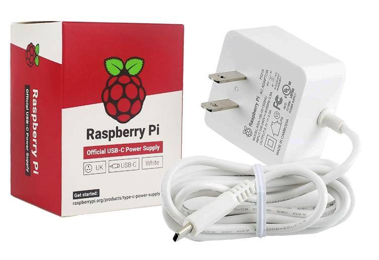 Power your Raspberry Pi 4 with the official power supply from PMD Way with free delivery worldwide