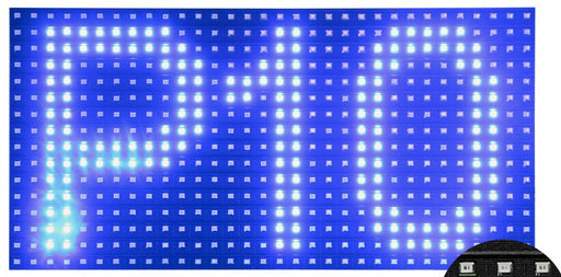 P10 LED Matrix Display - Blue from PMD Way with free delivery worldwide